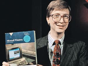 Один из богатейших людей планеты Билл Гейтс сам долгое время выглядел как «ботаник».